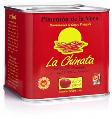 La Chinata SWEET 350g španělská uzená paprika sladká - - Koření - La Chinata uzená španělská paprika